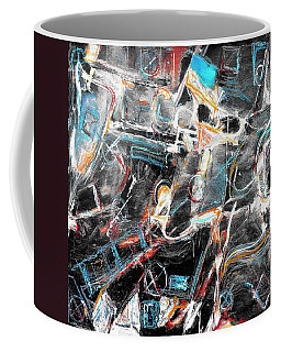Coffee Mug featuring the painting Badlands 2 by Dominic Piperata