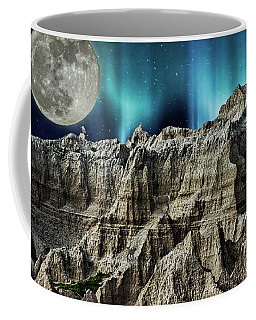 Badland's Borealis Coffee Mug