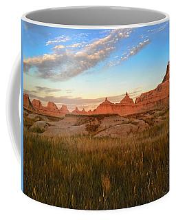 Badlands Evening Glow Coffee Mug