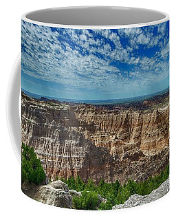 Badlands Landscape Coffee Mug