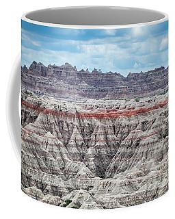 Badlands National Park Vista Coffee Mug