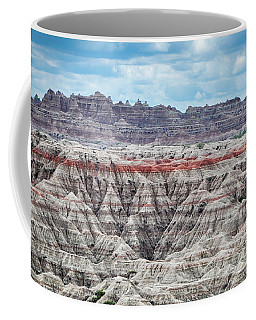 Badlands National Park Vista Coffee Mug