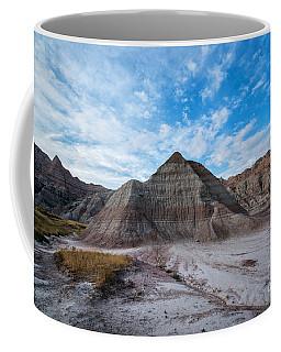 Badlands Pyramid  Coffee Mug