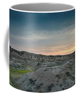 Badlands Sunset Coffee Mug