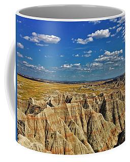Badlands To Plains Coffee Mug
