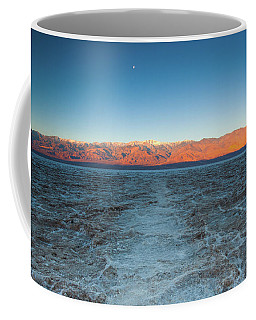 Coffee Mug featuring the photograph Badwater  by Catherine Lau