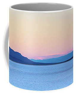 Badwater - Death Valley Coffee Mug by Peter Tellone