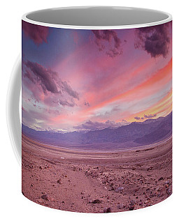 Badwater Sunset Coffee Mug