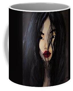 Bae Yoon Young At Backstage Coffee Mug