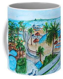 Bahamas Balcony Coffee Mug