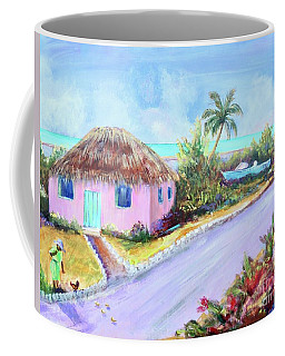 Bahamian Island Shack Coffee Mug