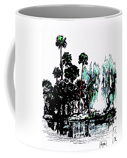Coffee Mug featuring the painting Bahia San Lucas by Roberto Prusso