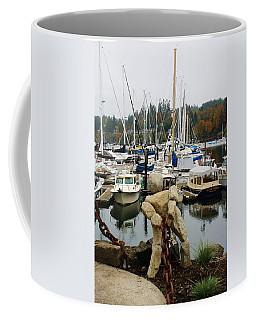 Coffee Mug featuring the photograph Bainbridge Harbor by Bruce Bley