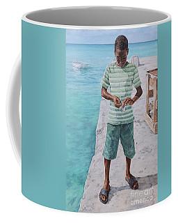 Baiting Up Coffee Mug