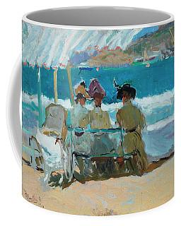 Under The Awnings, San Sebastian Coffee Mug