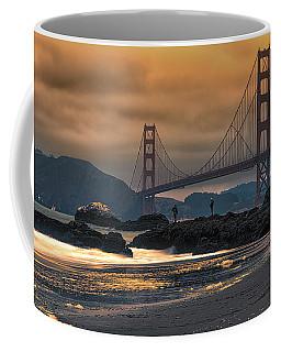 Baker Beach Golden Gate Coffee Mug