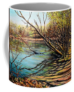 Bakers Pond Ipswich Ma Coffee Mug by Eileen Patten Oliver