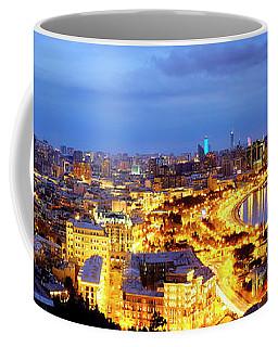 Coffee Mug featuring the photograph Baku by Fabrizio Troiani