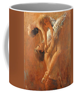 Balance In The Couple. Dance Painting .ballet.  Coffee Mug