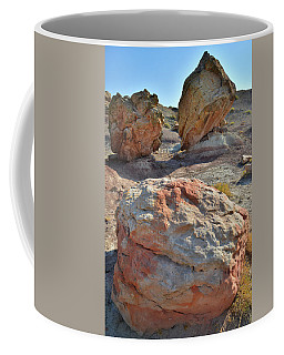 Balanced Boulders In Bentonite Site Coffee Mug