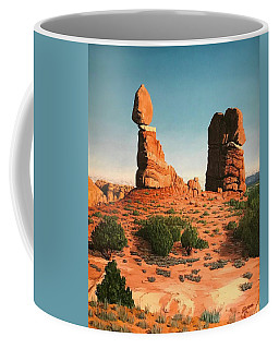 Balanced Rock At Arches National Park Coffee Mug