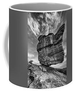 Balanced Rock Monochrome Coffee Mug