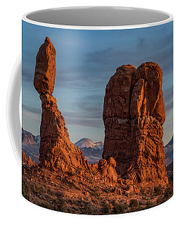 Balanced Rock Sunset Coffee Mug