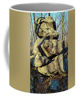 Coffee Mug featuring the photograph Balanced Rocks by Bruce Carpenter
