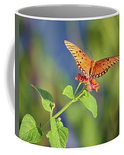 Coffee Mug featuring the photograph Balancing Act by Ellen Barron O'Reilly