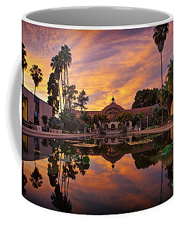 Balboa Park Botanical Building Sunset Coffee Mug