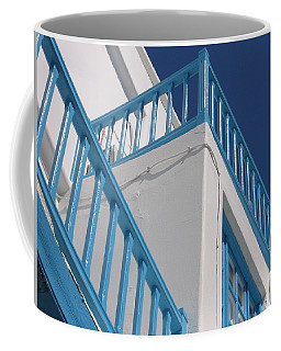 Blue And White In Mykonos Coffee Mug