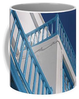 Balcony In Mykonos Coffee Mug