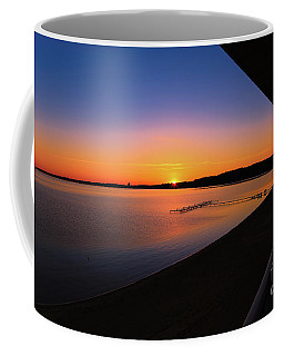 Balcony Sunrise Coffee Mug by Rachel Cohen