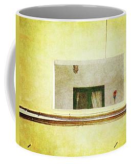 Balcony With Parrot Coffee Mug