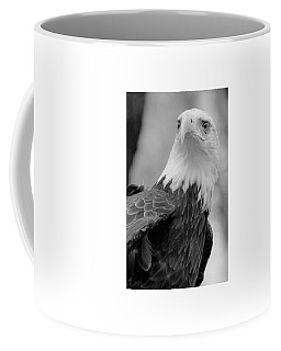 Bald Eagle Bw Coffee Mug
