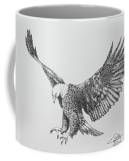 Bald Eagle Coffee Mug by Cyril Maza