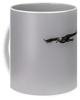 Bald Eagle Gliding Coffee Mug