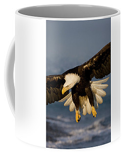 Bald Eagle In Action Coffee Mug