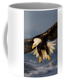 Bald Eagle In Action Coffee Mug