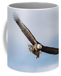 Bald Eagle Returns With Breakfast Coffee Mug