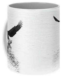 Bald Eagles Fishing Coffee Mug