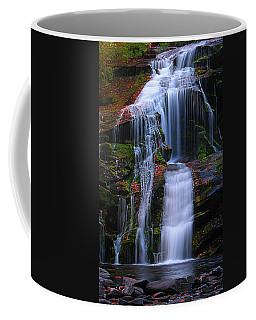 Bald River Falls Coffee Mug by Elijah Knight