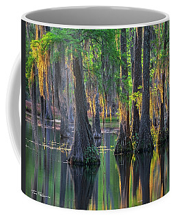 Baldcypress Trees, Louisiana Coffee Mug