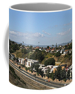 Baldwin Hills Over Stocker Street  Coffee Mug