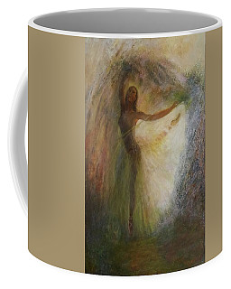 Ballet Dancer's Silhouette Coffee Mug