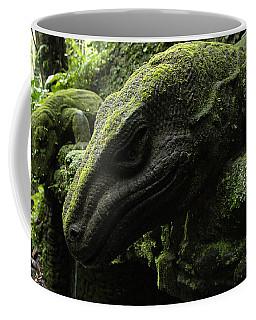 Bali Indonesia Lizard Sculpture Coffee Mug