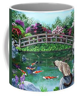 Balinese Cat At Hakone Coffee Mug