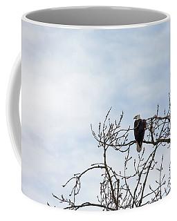 Coffee Mug featuring the photograph Balk Eagle by Rebecca Cozart
