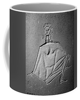 Ballerina In Repose Coffee Mug
