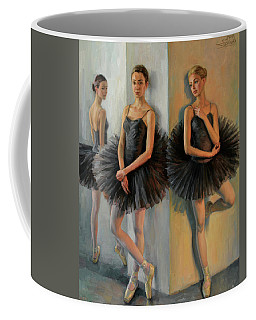 Ballerinas In Black Tutu Coffee Mug